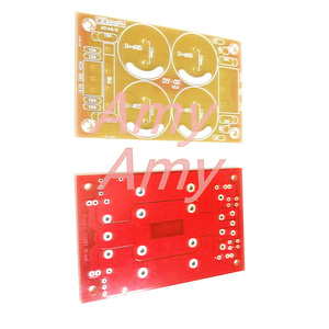 Image 2 - 10 pz/lotto [PCB scheda vuota] tensione positiva e negativa, doppia alimentazione, amplificatore di potenza, audio raddrizzatore, filtro, scheda di potenza