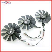 Ventilateur de refroidissement, pour ASUS Strix GTX1060 OC 1070 1080 GTX 1080Ti RX 480 RTX2060, carte graphique, 87mm, neuf