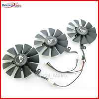 Novo 87mm pld09210s12hh pld09210m12hh ventilador de refrigeração para asus strix gtx1060 oc 1070 1080 gtx 1080ti rx 480 rtx2060 fã da placa gráfica