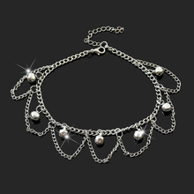 Summer Sexy Simple Anklet Bracelet Foot Chain Women Jewelry Free Shipping New Charm Silver anklet bracelet