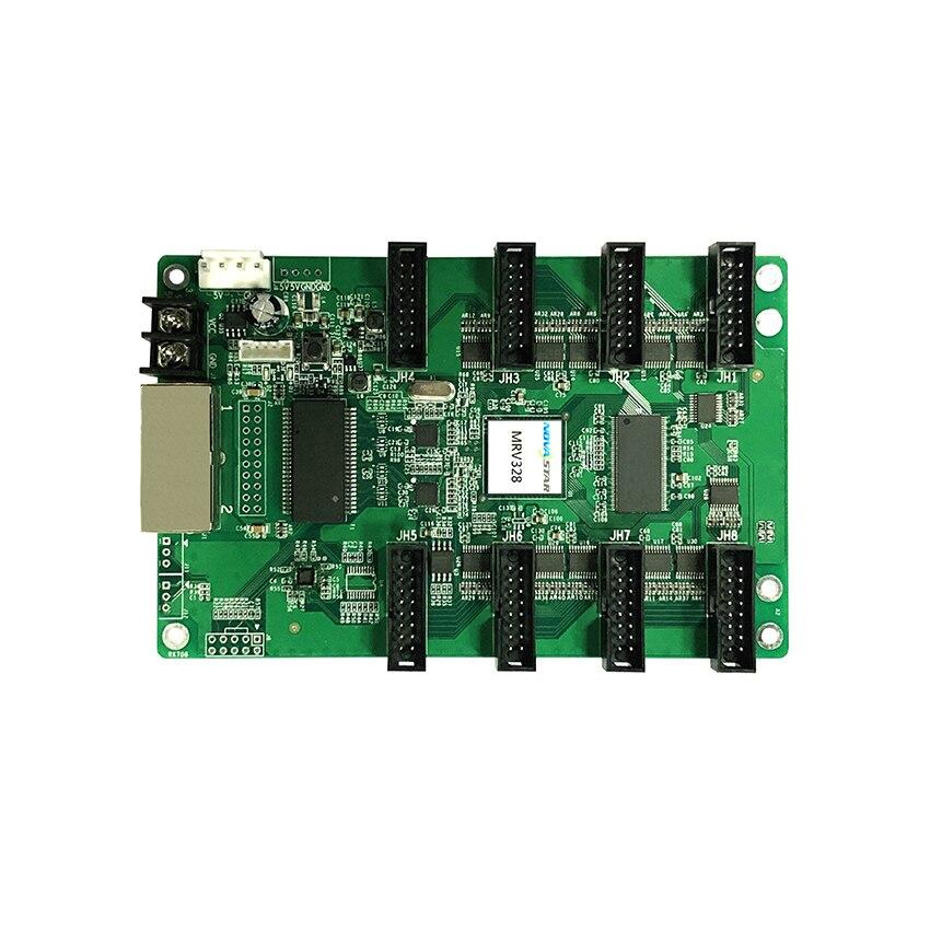 Nova MRV328 LED Display Receiving Card MRV330 Full Color LED Video Display Synchronous P3,P4,P5,P6,P8,P10 Hub75 Control Card