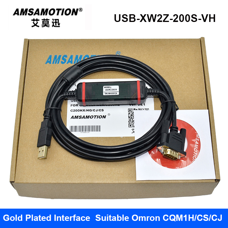 цена USB-XW2Z-200S-VH Suitable Omron CQM1H/CPM2C/CS/CJ1M Series PLC Programming Cable