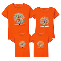 Children S Garment Parenting Dress Family New Pattern 2017 Summer Short Sleeve Circle Lead T Shirt