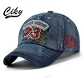 New Fashion Casual Adult Baseball Cap Boy Girl Gorras Denim Number 23 Embroidery Snapback Casquette Sport Outdoor Sun Hat B-200