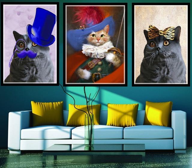 minimalistischen nordic schwarz wei kawaii allgemeine katze kunstdrucke poster kindergarten. Black Bedroom Furniture Sets. Home Design Ideas