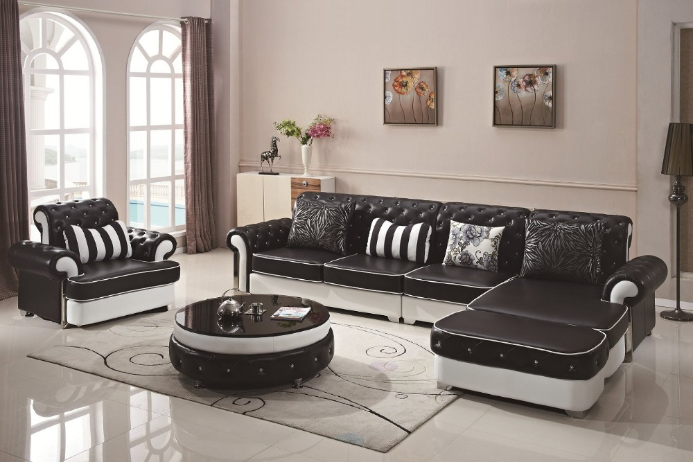 US $2560.0 |2019 Rushed European Style Set Modern No Sofas For Living Room  Chaise Beanbag European Hot Selling Design Modern Leather Sofa-in Living ...