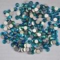 Esmeralda AB ss3, Ss4, Ss5, Ss6, Ss8, Ss10, Ss12, Ss16, Ss20, Ss30 de cristal não Hotfix Nail Art cola em strass