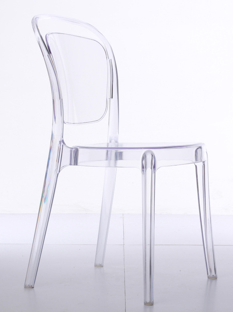 Minimalist Designer Dining Chairs Imported Pc Transparent Chair Creative  Casual Cafe Chairs Plastic Chairs Outdoor Balcony