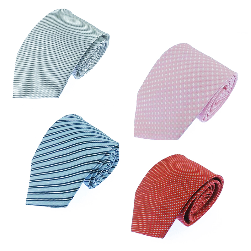 New Neck Tie For Men Classic Check Ties Fashion Polyester Mens Necktie For Wedding Business Suit Plaid Tie 145 X 8.5 CM