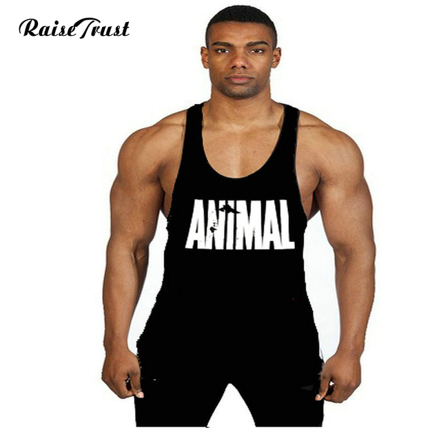 17616e018a28a0 Fitness!Universal Wholesale cotton bodybuilding workout tank tops gyms  stringer tank tops fit muscle mens gold top gyms vest