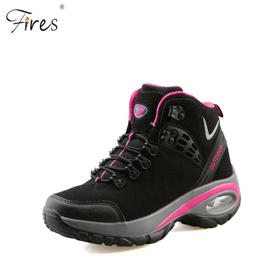 Hot Hiking Shoes Men 2016 Breathable Outdoor snow boot Shoes woman Mountain Climbing Trekking Shoes Zapatos Hombre Walking Shoes image
