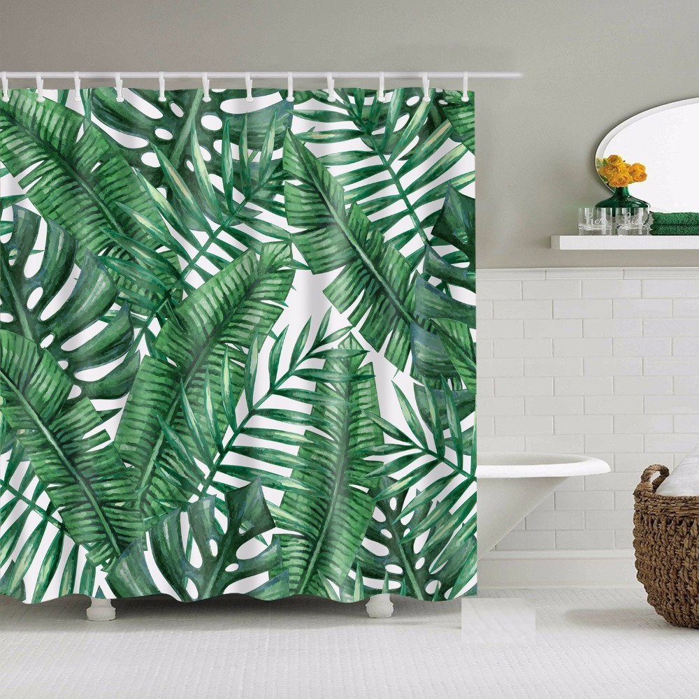 Abstract Jellyfish Fabric Shower Curtain Colorful Jelly Fish Ocean Sea Decor New