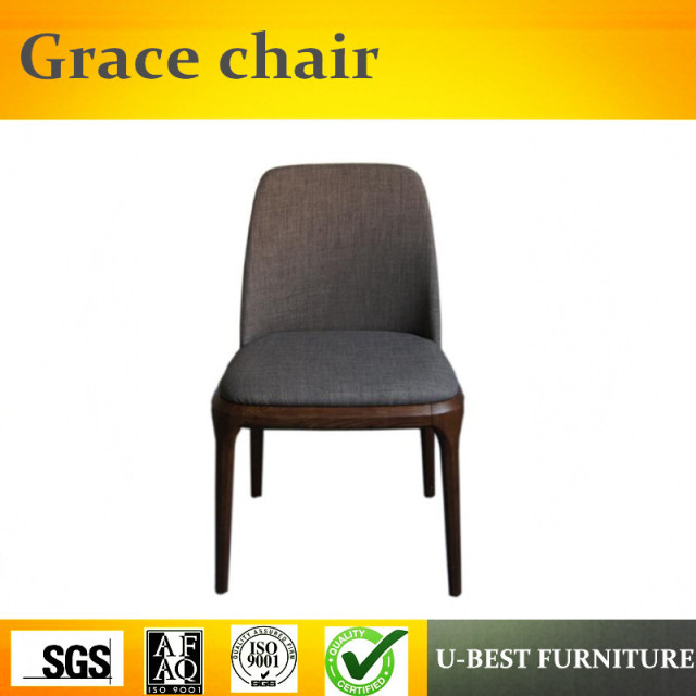 Free Shipping U BEST Replica Classical Italian Design Modern Wood Furniture  Poliform Grace Side Dining Chair