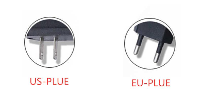 Adaptateur d'alimentation 9V 1A interrupteur chargeur 12v volt transformateur EU US prise 110V 220V à DC adaptateur de alimentation LED pour bande de LED