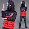 Spiderman Children outerwear kids Clothing boys Spider man Sports warm winter coats thickening boy cotton-padded jacket