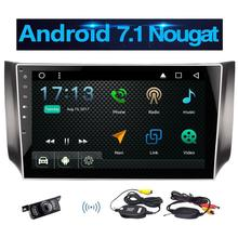 Wireless Camera Included!Eincar Android 7.1 Stereo Radio for Nissan Support GPS Navigation Bluetooth Autoradio WIFI 1080P Video