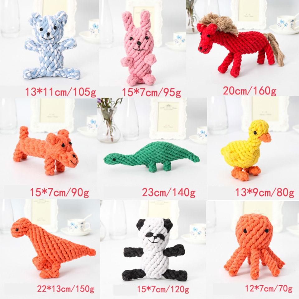 ᑐPetcircle Pet Dog juguetes para perro pequeño doble nudo cuerda de ...