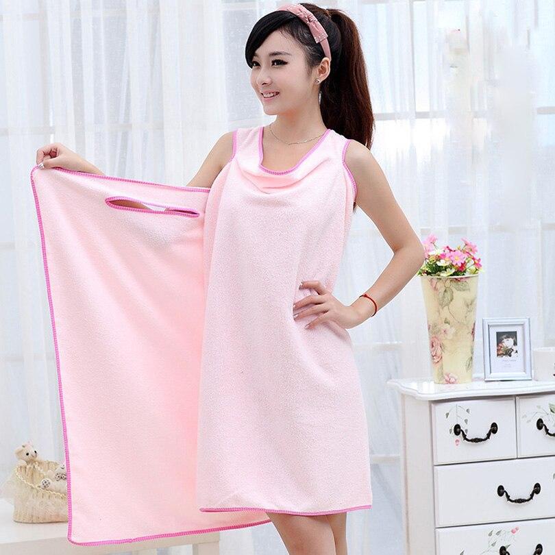 bf2f20a15dbdb بسيطة مريحة وملائمة متنوعة ماجيك منشفة الحمام يمكن ارتداؤها المناشف ستوكات  حمام حمام منشفة لينة و ماصة