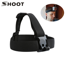 SHOOT Elastic Harness Chest & Head Strap for GoPro Hero 9 8 7 5 Black Sjcam Sj4000 Yi 4K H9r Camera Mount for Go Pro 7 Accessory