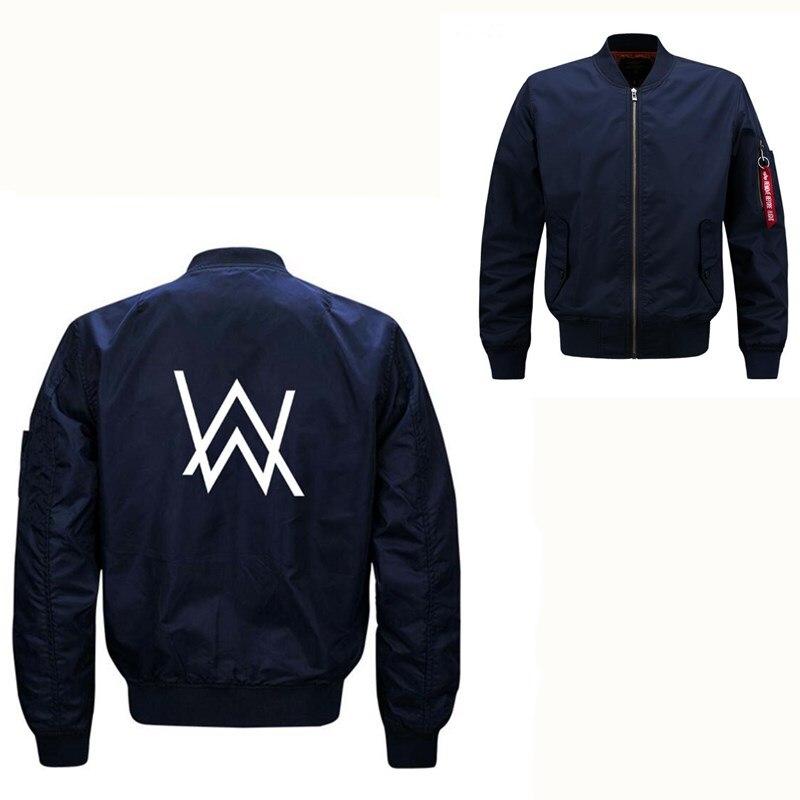 Alan Walker High Quality Men Jacket spring autumn Army Green Military Jacket