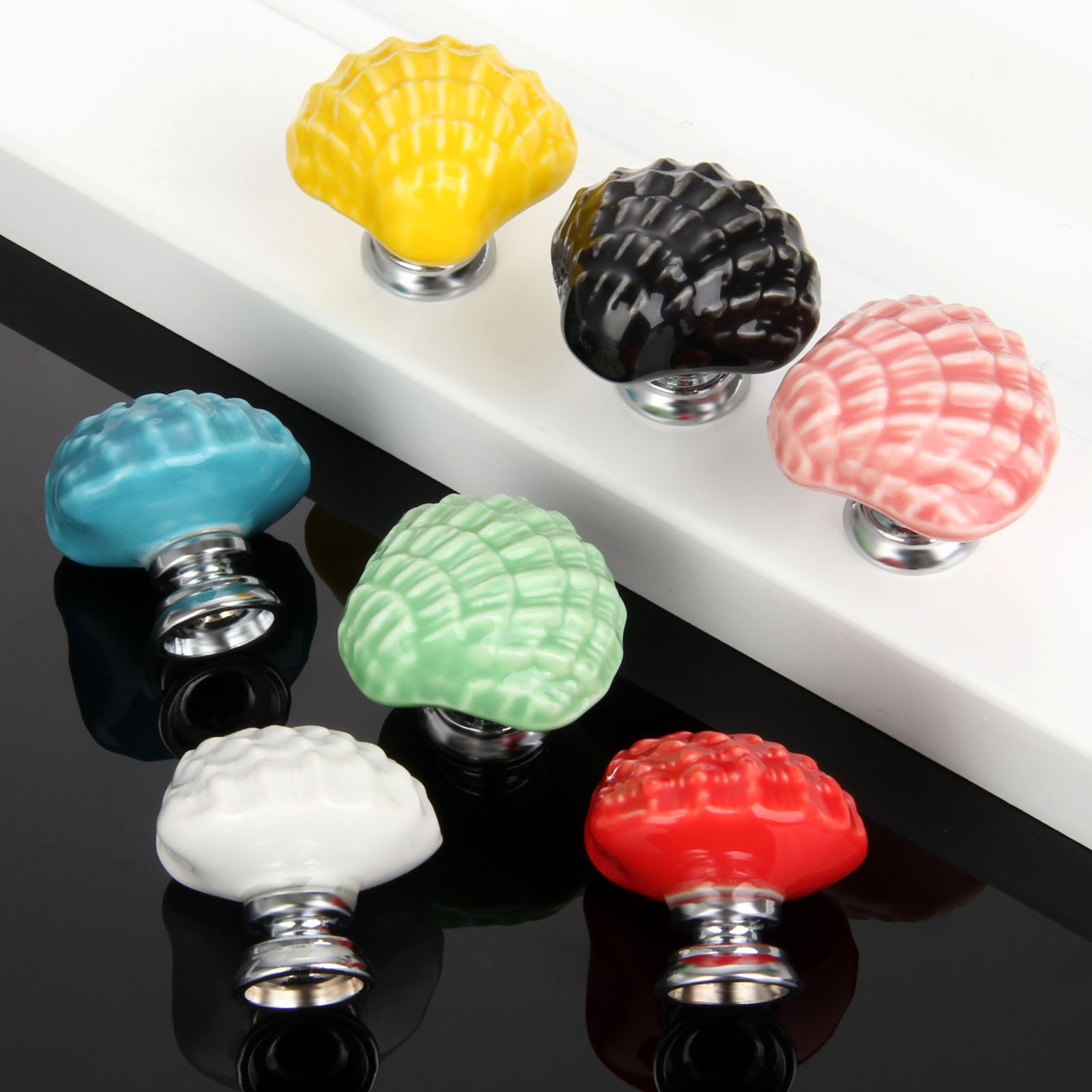 Kitchen Cabinet Shells Popular Shell Cabinet Knobs Buy Cheap Shell Cabinet Knobs Lots