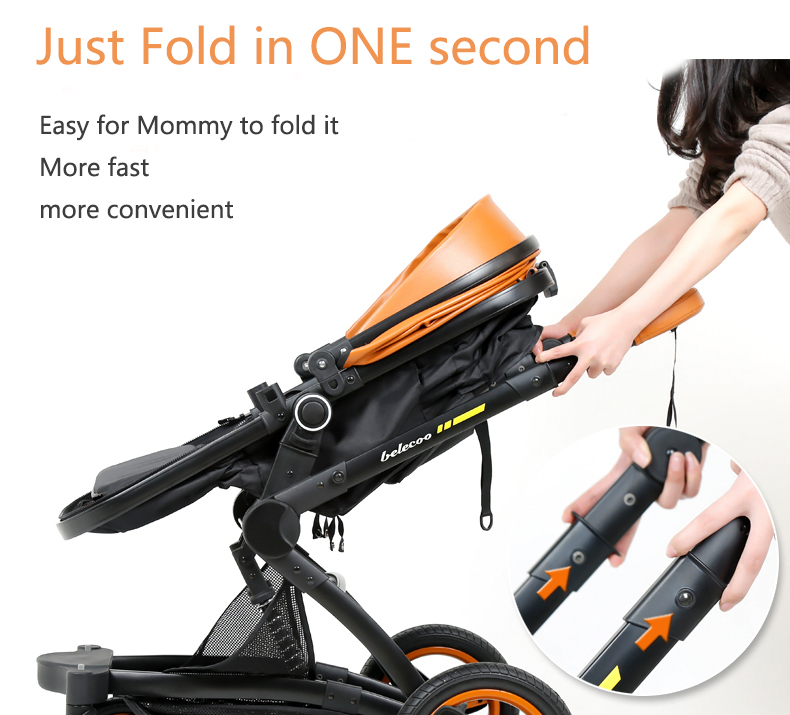 luxury baby stroller 3 in 1 (18)