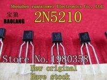 10 adet yeni orijinal orijinal 2N5210 transistör TO92