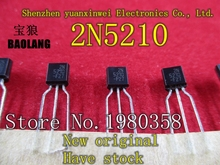 10pcs NEW ORIGINAL GENUINE 2N5210 transistor TO92