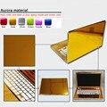 Настройки Чистый Цвет ABC стороны Ноутбука Наклейка Пыле Скины Защитные Стикеры Наклейки Для Lenovo S206/S100/Z370/Z380/U310