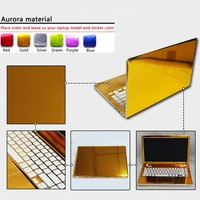 Customization Pure Color ABC Sides Laptop Sticker Dustproof Skins Protective Decal Stickers For Lenovo S206 S100