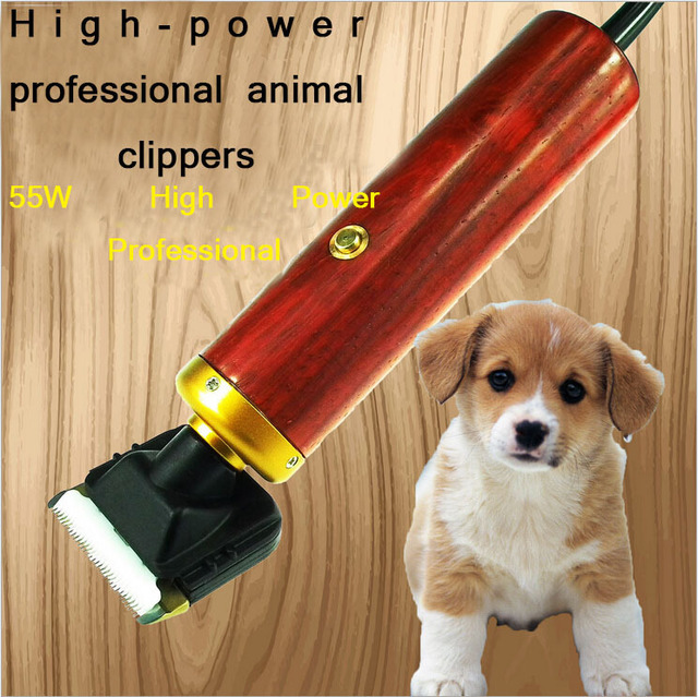 Professional Pet Scissors Dog Cattle Rabbits Shaver 55W High Power Horse Grooming Electric Hair Clipper Cutting Machine