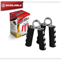 2015 Winmax 2pcs Fitness Equipments Hand Muscle Developer Sports Entertainment Body Building Steel EVA Hand Grips