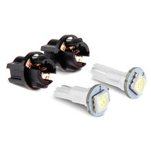 Neue 10Pcs T5 LED Twist Sockel PC74 Instrument Panel Cluster Super Helle Niedrigen Verbrauch Ersatz Buchse Lampe Halter #294310