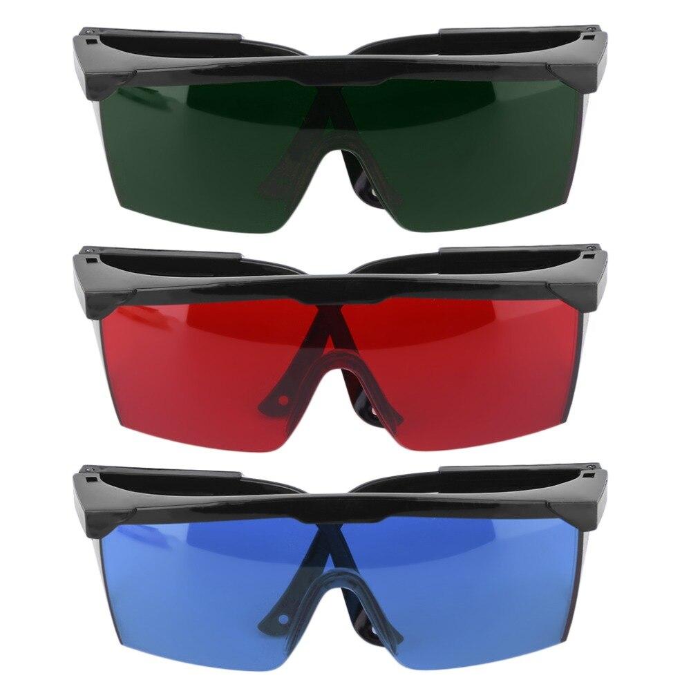 Lunettes de Protection lunettes de sécurité Laser vert bleu rouge yeux lunettes de Protection couleur verte haute qualité et plus récent