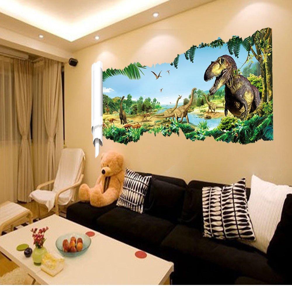 9050cm Newest Impression 3d Cartoon Movie Dinosaur Home Decal Wall Lgs Slim Fit Youth Boy Big Dreams Abu Xl Sticker Boys Love Kids Room Decor Child Gifts