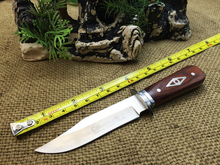 Free Shipping High quality The Jungle Predator 2016 Honor Hunting Fixed Knives With Nylon Leather Sheath Tactical Knife Camping