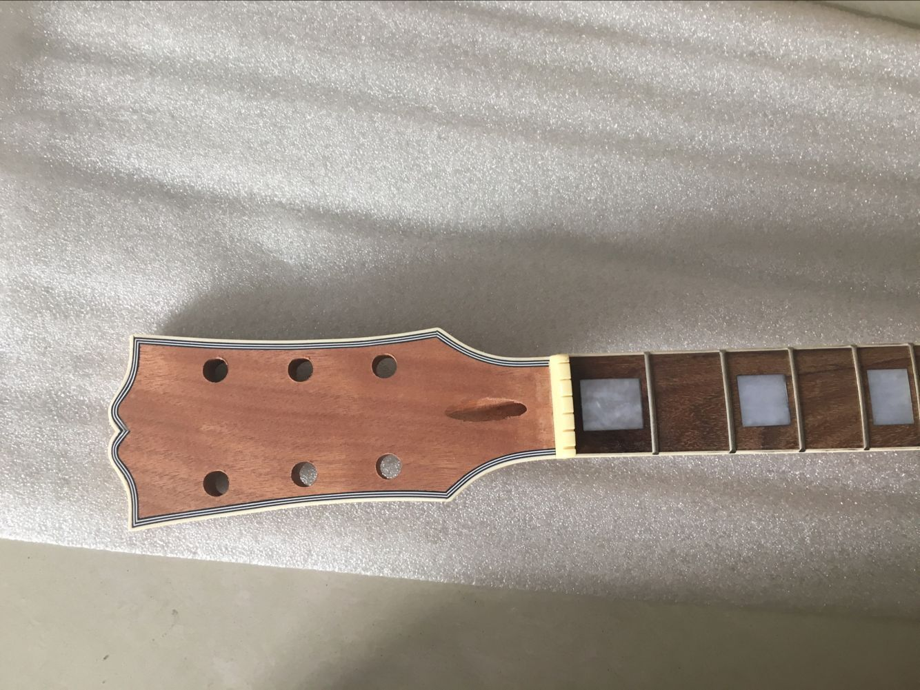 09306 New Nice Unfinished Electric Guitar Parts Strong Neck