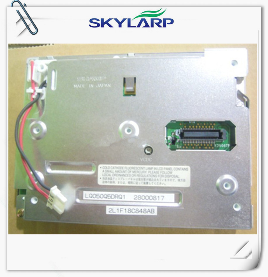 5 inch LCD for Sharp LQ050Q5DRQ1 lcd screen display panel module Car GPS navigation LCD display screen panel Free shipping
