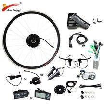 250 Вт/350 Вт/500 Вт Электрический велосипед велосипедный набор двигателя без батареи светодиодный/ЖК-дисплей колесный двигатель для велосипедная ступица MTB мотор e велосипед комплект