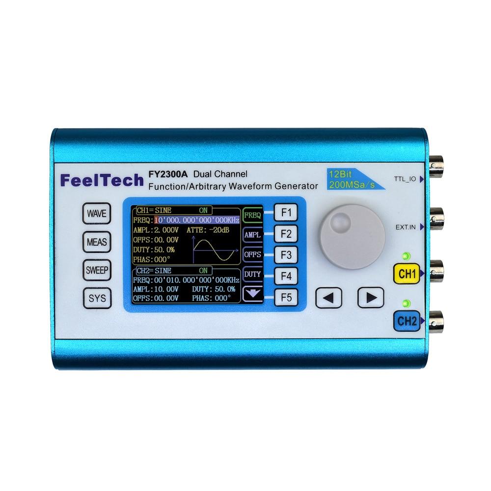 Цифровой двухканальный генератор сигналов DDS генератор частоты произвольный сигнал 200 мвыб/с 6 мгц