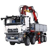 Город RC грузовиков дизайн Большой Мак модели грузовик строительные блоки тяжелые строительных машин Legoings
