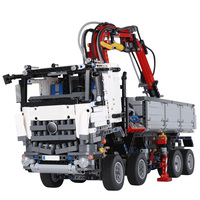 City RC Trucks Technic Big Mack Truck Model Building Blocks Heavy Construction Vehicles Legoings
