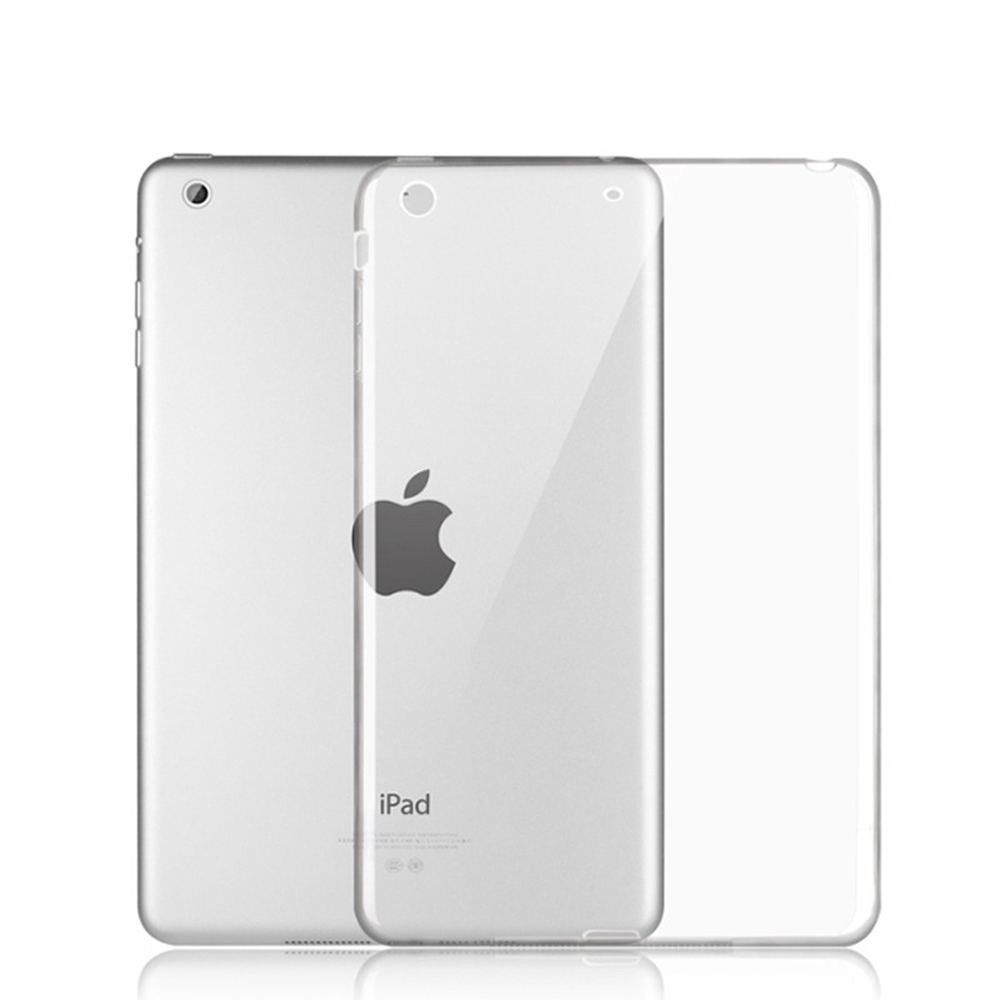 For New iPad 9.7 Inch 2017 2018 Cases Clear TPU Ultra Slim Transparent Shell Shockproof Back Cover For A1822 A1823 A1893 ST03