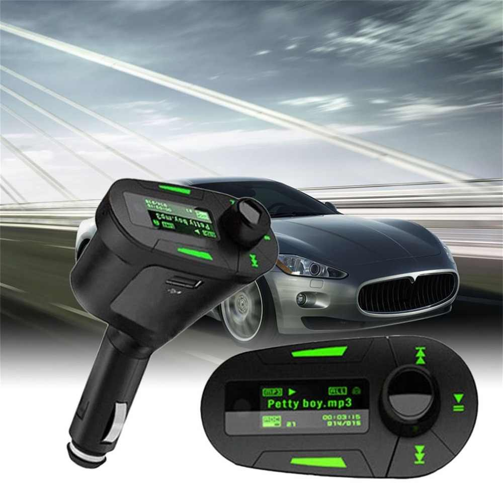 Audio Car MP3 Player Kit Wireless Music Radio FM Transmitter Modulator USB Secure Digital Memory Card MMC With Remote Control