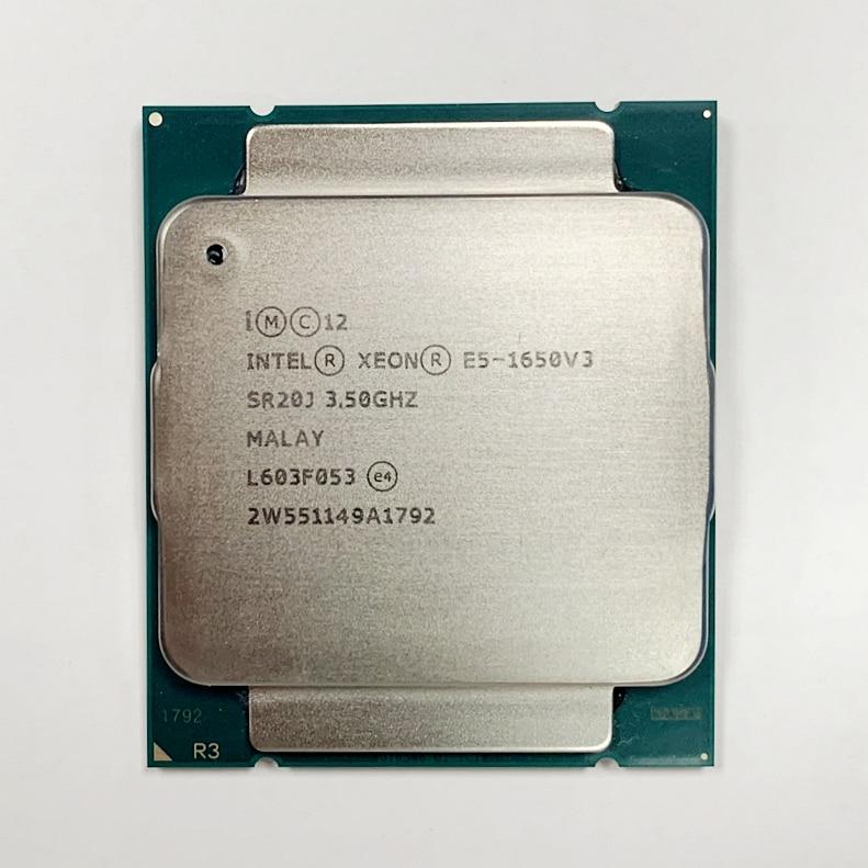 Intel Xeon E5 1650 V3 3.5GHz 6 Core 15Mb Cache LGA2011 3 CPU E5 1650 V3 Processor-in CPUs from Computer & Office