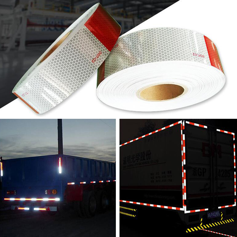5cmx5m Reflective Stickers Adhesive Tape For Car Safety Accessories