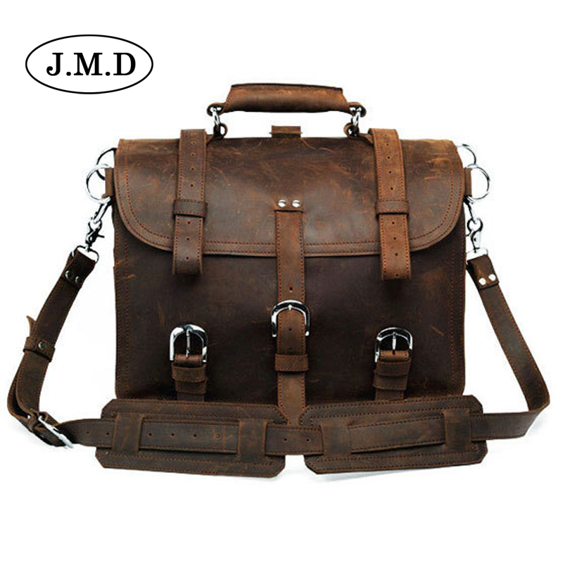 Подробнее о J.M.D Men messenger bags genuine leather bag men briefcase fashion designer handbags high quality famous brand business bag 7072 new men business handbags messenger bags genuine leather bag men briefcase fashion high quality brand design shoulder bag ys1444