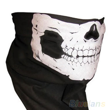 Hot Skull Bandana Bike Motorcycle Helmet Neck Face Mask Paintball Ski 0ISK BDJ8