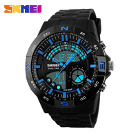 Free Shipping Waterproof Sports Military Camo Watches Men's Analog Quartz Digital Watch Girl Watch 1110