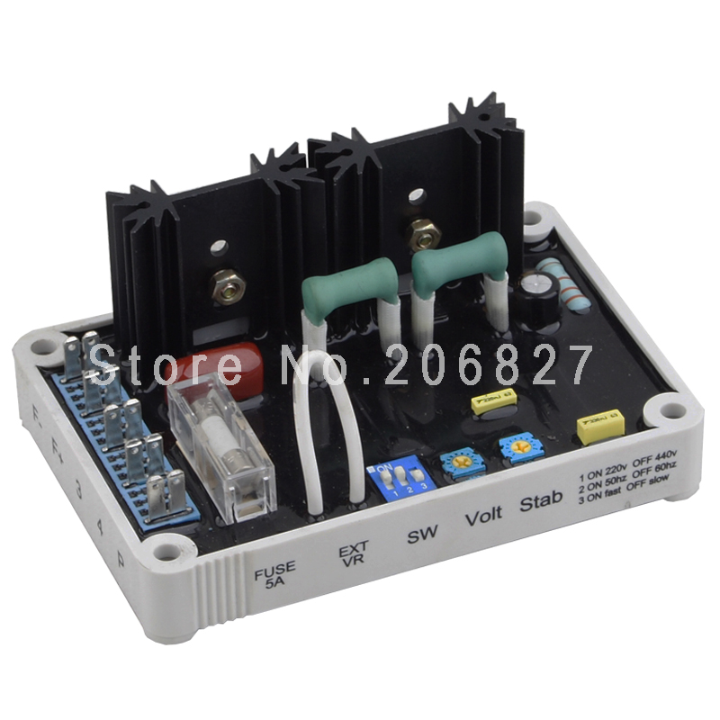 EA04C AVR solid Thai also means generator regulator AVR gcu 20 generator control unit solid thai also means kutai generator control unit